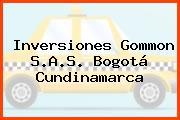 Inversiones Gommon S.A.S. Bogotá Cundinamarca