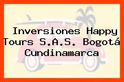 Inversiones Happy Tours S.A.S. Bogotá Cundinamarca