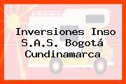 Inversiones Inso S.A.S. Bogotá Cundinamarca