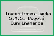 Inversiones Iwoka S.A.S. Bogotá Cundinamarca