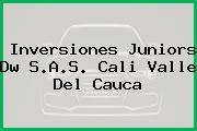 Inversiones Juniors Dw S.A.S. Cali Valle Del Cauca