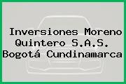 Inversiones Moreno Quintero S.A.S. Bogotá Cundinamarca