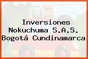 Inversiones Nokuchuma S.A.S. Bogotá Cundinamarca