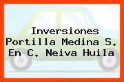 Inversiones Portilla Medina S. En C. Neiva Huila