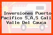 Inversiones Puerto Pacifico S.A.S Cali Valle Del Cauca