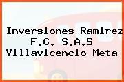 Inversiones Ramirez F.G. S.A.S Villavicencio Meta