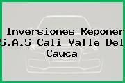 Inversiones Reponer S.A.S Cali Valle Del Cauca