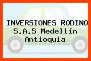 INVERSIONES RODINO S.A.S Medellín Antioquia