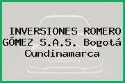 INVERSIONES ROMERO GÓMEZ S.A.S. Bogotá Cundinamarca
