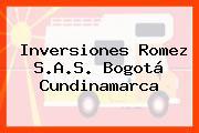 Inversiones Romez S.A.S. Bogotá Cundinamarca