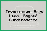 Inversiones Sega Ltda. Bogotá Cundinamarca