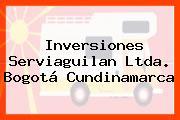 Inversiones Serviaguilan Ltda. Bogotá Cundinamarca