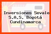 Inversiones Sevale S.A.S. Bogotá Cundinamarca