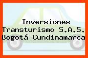 Inversiones Transturismo S.A.S. Bogotá Cundinamarca
