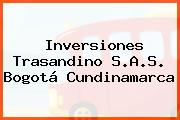 Inversiones Trasandino S.A.S. Bogotá Cundinamarca