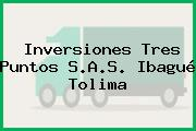 Inversiones Tres Puntos S.A.S. Ibagué Tolima