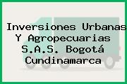Inversiones Urbanas Y Agropecuarias S.A.S. Bogotá Cundinamarca