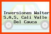 Inversiones Walter S.A.S. Cali Valle Del Cauca