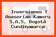 Inversiones Y Asesorías Kamoru S.A.S. Bogotá Cundinamarca