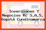 Inversiones Y Negocios Rc S.A.S. Bogotá Cundinamarca