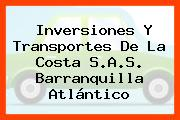 Inversiones Y Transportes De La Costa S.A.S. Barranquilla Atlántico