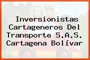 Inversionistas Cartageneros Del Transporte S.A.S. Cartagena Bolívar