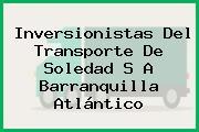 Inversionistas Del Transporte De Soledad S A Barranquilla Atlántico