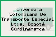 Inversora Colombiana De Transporte Especial Ltda. Bogotá Cundinamarca