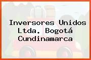 Inversores Unidos Ltda. Bogotá Cundinamarca