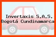 Invertaxis S.A.S. Bogotá Cundinamarca