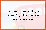 Invertrans C.G. S.A.S. Barbosa Antioquia