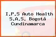 I.P.S Auto Health S.A.S. Bogotá Cundinamarca