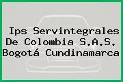 Ips Servintegrales De Colombia S.A.S. Bogotá Cundinamarca