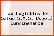 Jd Logística En Salud S.A.S. Bogotá Cundinamarca