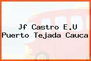 Jf Castro E.U Puerto Tejada Cauca