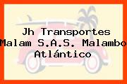 Jh Transportes Malam S.A.S. Malambo Atlántico