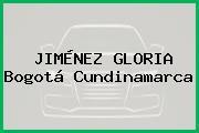 JIMÉNEZ GLORIA Bogotá Cundinamarca