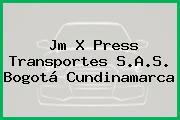 Jm X Press Transportes S.A.S. Bogotá Cundinamarca