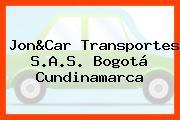 Jon&Car Transportes S.A.S. Bogotá Cundinamarca