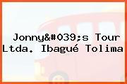 Jonny's Tour Ltda. Ibagué Tolima