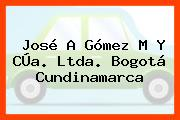 José A Gómez M Y CÚa. Ltda. Bogotá Cundinamarca