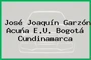 José Joaquín Garzón Acuña E.U. Bogotá Cundinamarca
