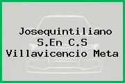 Josequintiliano S.En C.S Villavicencio Meta