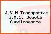 J.V.M Transportes S.A.S. Bogotá Cundinamarca