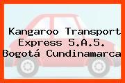 Kangaroo Transport Express S.A.S. Bogotá Cundinamarca
