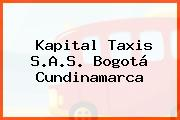 Kapital Taxis S.A.S. Bogotá Cundinamarca