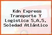 Kdn Express Transporte Y Logistica S.A.S. Soledad Atlántico