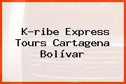 K-ribe Express Tours Cartagena Bolívar