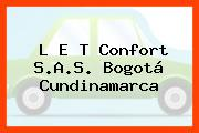 L E T Confort S.A.S. Bogotá Cundinamarca