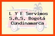 L Y E Servimos S.A.S. Bogotá Cundinamarca